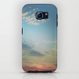 Dark Clouds File in When the Moon is Near iPhone Case