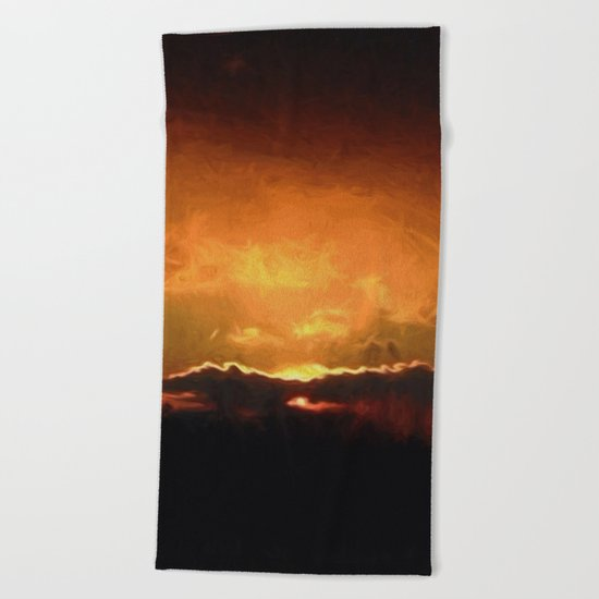 Pennsylvania Sunset Beach Towel