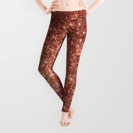 rose gold Galaxy stars Leggings