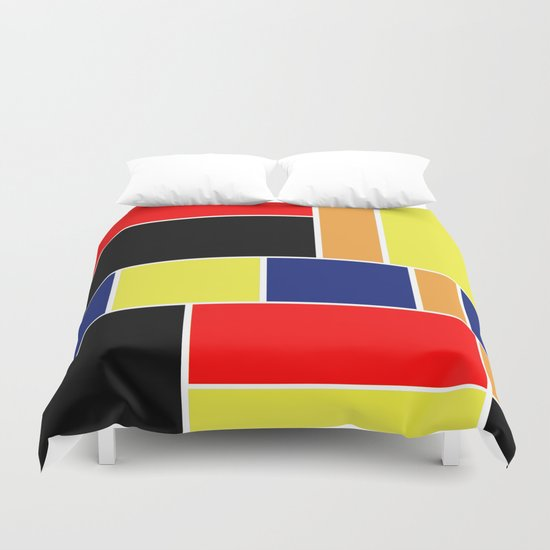 Abstract #404 Duvet Cover