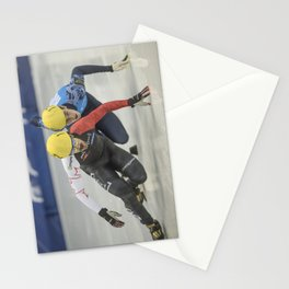 Charles Hamelin, Olympic Champion, Official Action Stationery Cards
