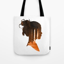 Park Guell Barcelona Profile  Tote Bag