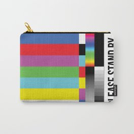 Color Bars Carry-All Pouch