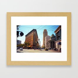 San Francisco Intersection 2007 Framed Art Print