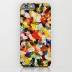 Starry halftone iPhone 6 Slim Case