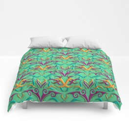 Tribal Pattern 4 Comforters