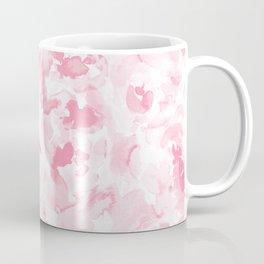 Abstract Flora Millennial Pink Coffee Mug