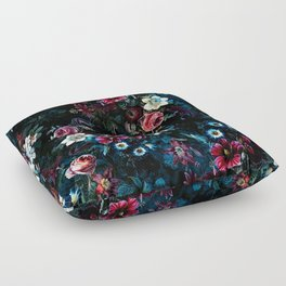 NIGHT GARDEN XI Floor Pillow