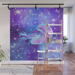 The Celestial Chambered Nautilus Wall Mural