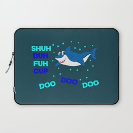 baby shark funny sarcastic annoying song. Laptop Sleeve