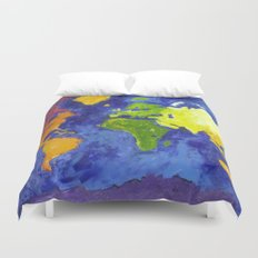 The World Duvet Cover