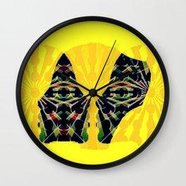 Cabsink16DesignerPatternWOM1 Wall Clock
