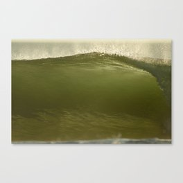 Verde Tubo Canvas Print