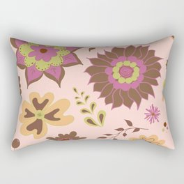 Flight of Fancy - Plum Rectangular Pillow