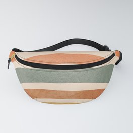 Retro Rainbow Fanny Pack