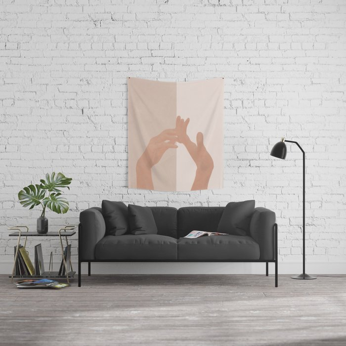 Come with Me Wall Tapestry