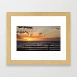 The Runner Framed Art Print