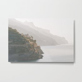 Amalfi Layers 02 Metal Print