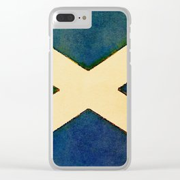 The Saltire Clear iPhone Case