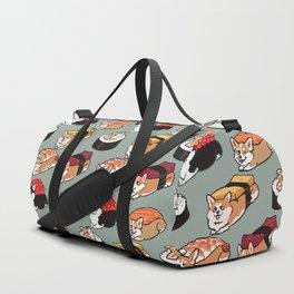 Sushi  Corgi Duffle Bag