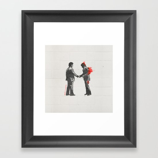 Welcome to the Machine Framed Art Print