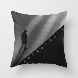 Kafkaesque Throw Pillow