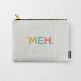 MEH. cream Carry-All Pouch
