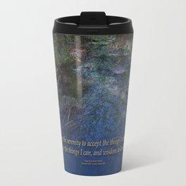 Serenity Prayer Blue Creek Travel Mug