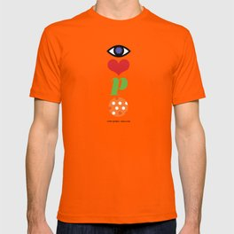 Eye Love P Ball Rebus #2 T-shirt