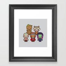 The Guardians Framed Art Print