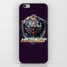 Yeah she sees my Hyrulin' - 80's Legend of Zelda Shield iPhone & iPod Skin