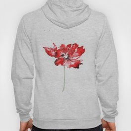 Poppy blooming 1 Hoody