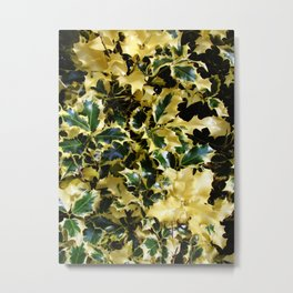 Marbled Thorns Metal Print