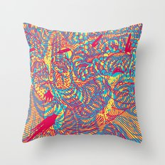 CARB OVERLOAD! Throw Pillow