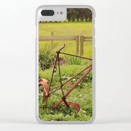 Colour me in! Clear iPhone Case