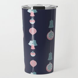 Christmas baubles Travel Mug