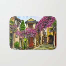 Courtyard in Provence Bath Mat