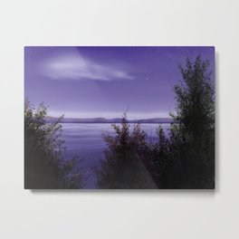 Purple Dusk Metal Print