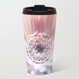 Pastel Gerbera Travel Mug