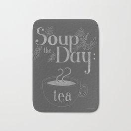 Soup Of The Day: Tea Bath Mat