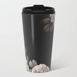 Flowers on a winter night Travel Mug