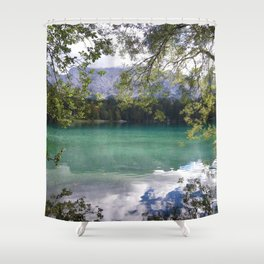When Nature Sings Her Lullaby Shower Curtain