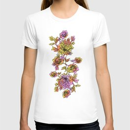 Rainbow Flowers T-shirt