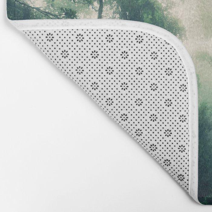 Zip Line Bath Mat