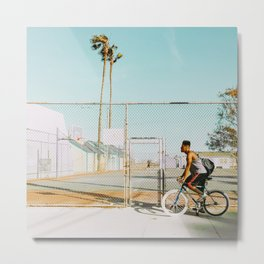 Biking - v27 Metal Print