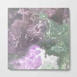 Abstract Marble Texture 451 Metal Print