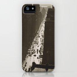 35th Street Manhattan iPhone Case