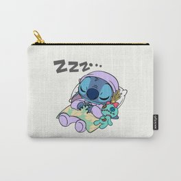 Sleeping Stitch Carry-All Pouch