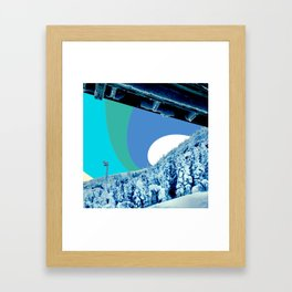 under the deck Framed Art Print