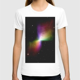 rainboW Space Boomerang Nebula T-shirt